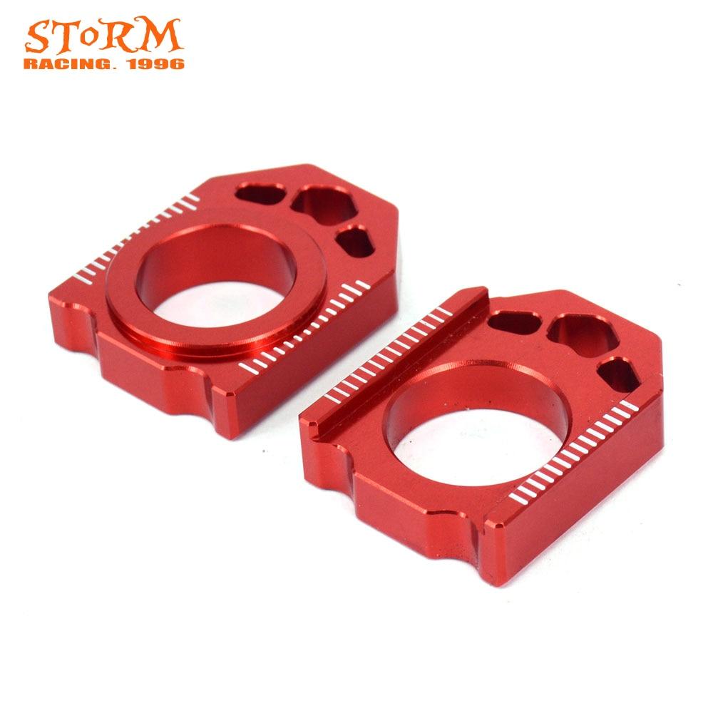 Мотоцикл CNC Красный мост блок цепи регулятор для HONDA CR125R 250R 02-07 CRF250R 250X 04-17 CRF450R 02-17 CRF450X 05-17 CRF450RX
