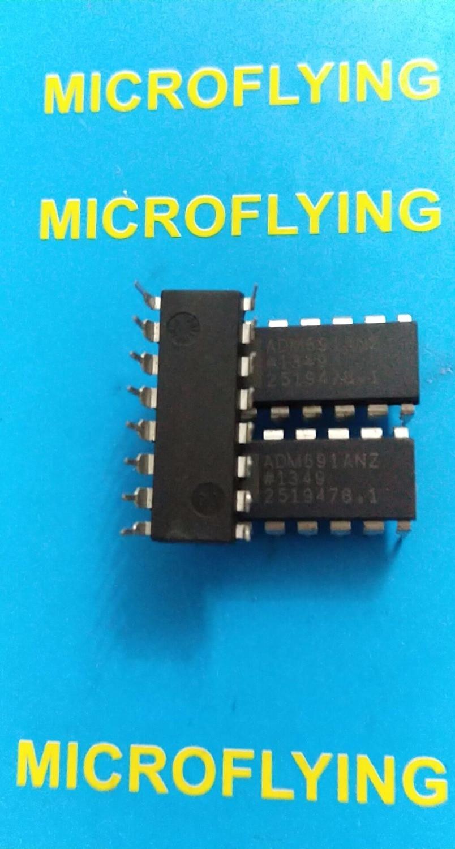 ADM691ANZ ADM691A superviseur de processeur 4.65 V 1 actif haut/actif bas automobile 16 broches PDIP