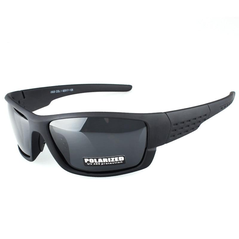 Ywjanp brand design Sports Sunglasses Polarized Men Women Black Sport Outdoor Driving Fishing Eyewear