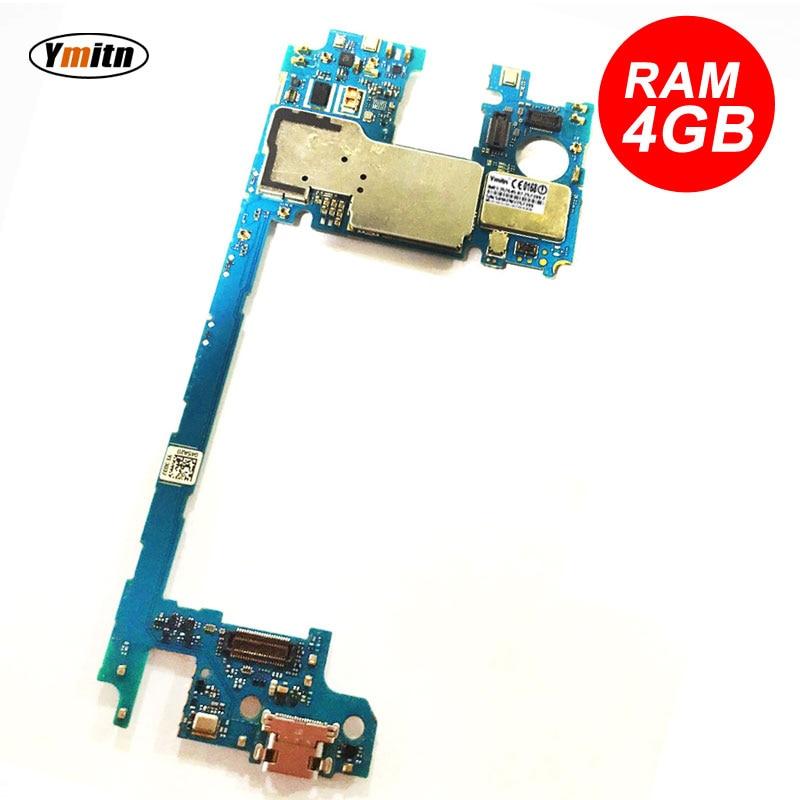Ymitn desbloqueado Panel electrónico móvil placa base circuitos Flex Cable para LG Google 5x H791 RAM 4GB