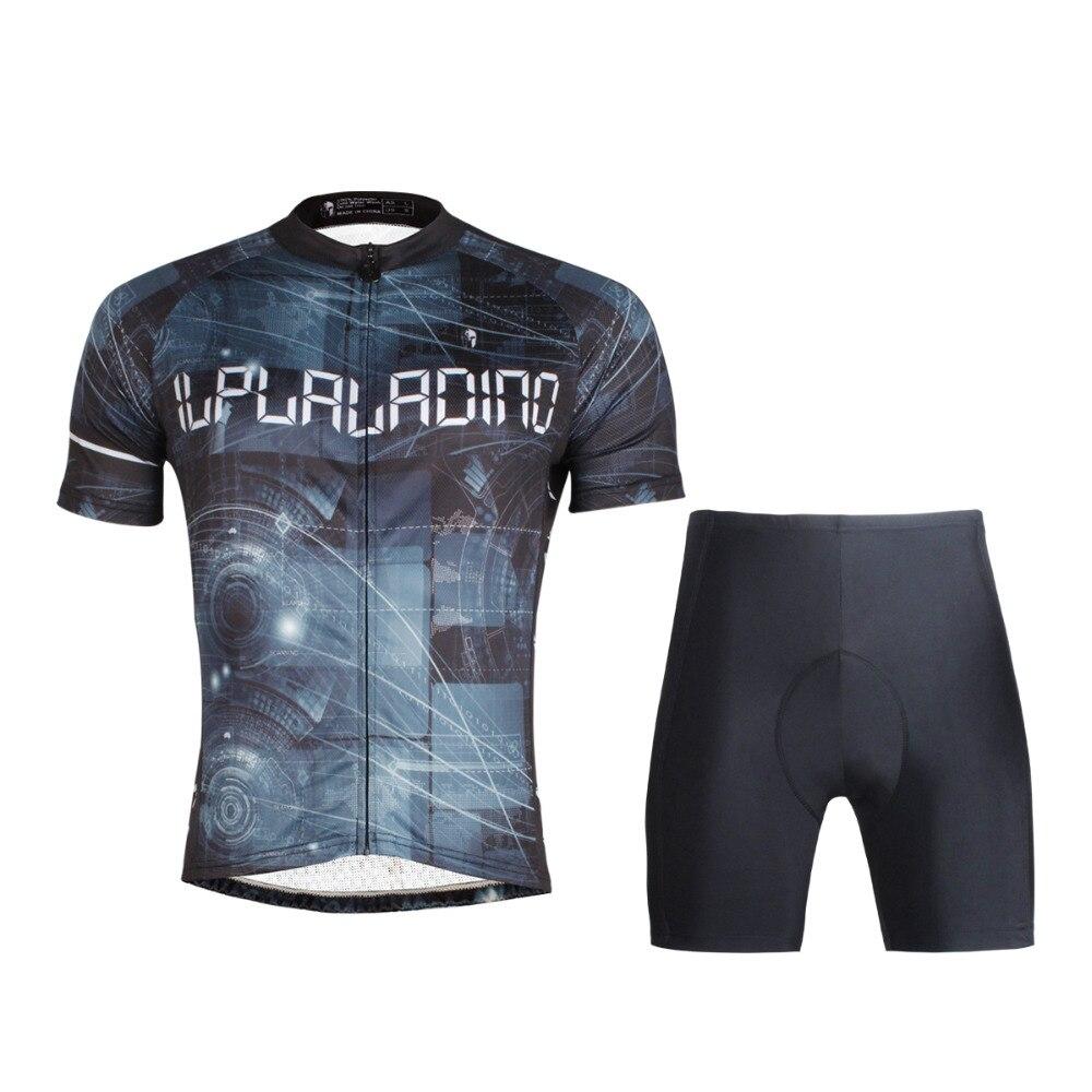 ILPALADINO-Camiseta de manga corta para hombre, de estrella negra para ciclismo de montaña, deportes de descenso, BMX DH, ropa de verano