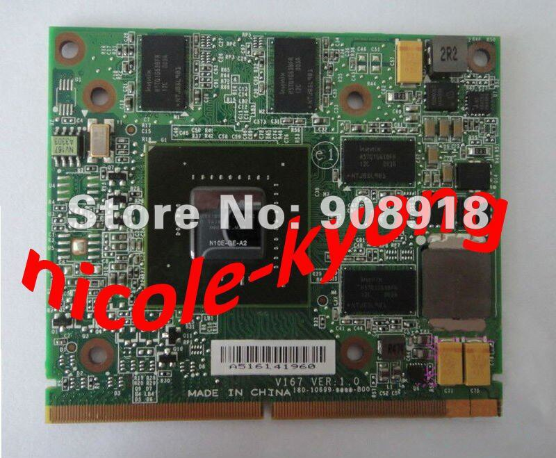 GT250M GTS250M DDR3 1GB N10E-GE-A2 vídeo VGA tarjeta para lenovo B500 B505 A600 Aspire 5739G 5935G 5940G 7735G 7738G 8735G 8940G