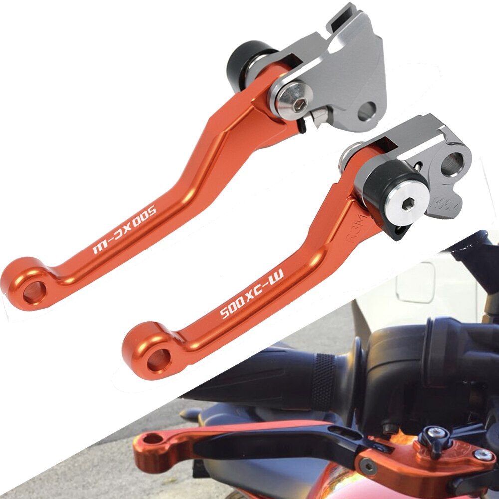 Для KTM 500XC-W 500 XC-W 2012 2013 2014 2015 2016 рычаги тормозного сцепления для грязного велосипеда аксессуары для мотоциклов рычаг cnc алюминий