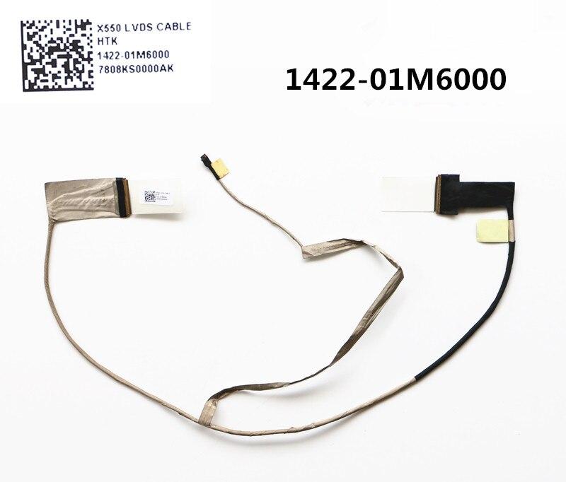 Laptop/Notebook LCD/LED/LVDS CABO flex Para ASUS X552 X552C X552EA X552EP A552 K552E F552 1422-01M6000 40PIN