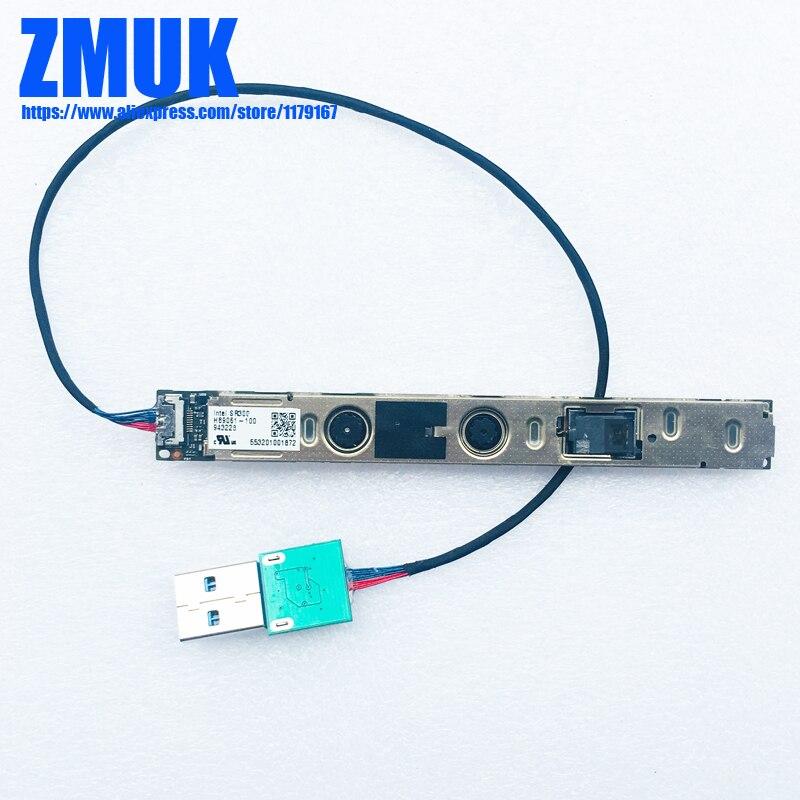 3d realsense câmera módulo com cabo usb para intel realsense sr300/f200
