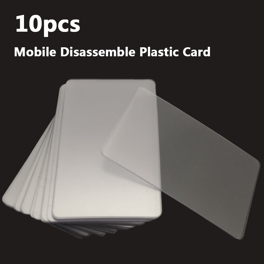Набор ручных инструментов 10 шт пластиковый скребок для открывания карт для iPhone iPad планшет для Samsung мобильный телефон инструмент для ремонта склеенного экрана