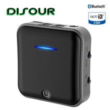 B19 2 en 1 5.0 Bluetooth émetteur récepteur CSR8675 Aptx HD adaptateur 3.5mm SPDIF numérique optique Toslink pour voiture émetteur TV