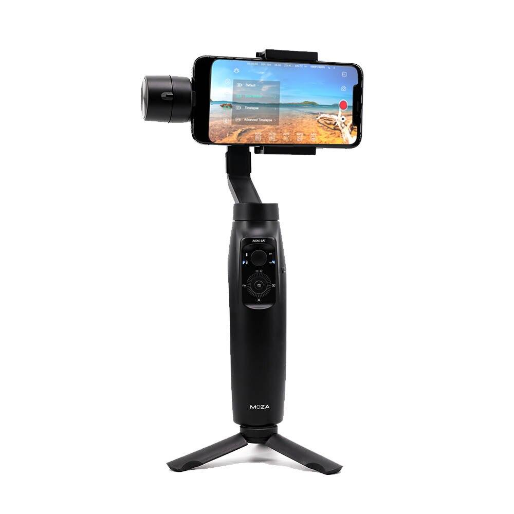 Moza mi ni-mi 3-eje cardán estabilizador para Smartphone iPhone 11 X Xr Xs Samsung S9 + S10 + Huawei P30 Mate30 Pro Xiaomi Blog de vídeo