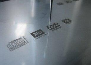 80x160X10mm Pad Print Metal Plate Logo Making 1 unit Customized Logo Print