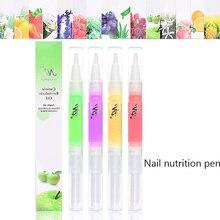 15 saveurs en option enlèvement des ongles huile nutritive barbelé Solution de soin quotidien des ongles stylo de Nutrition réparation Essence huile de doigt