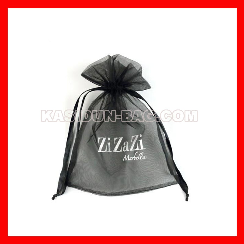 (10000pcs/lot) 4 sizes available custom organza gift bag with logo