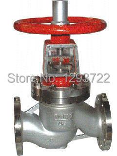Oxygen valve, stainless steel oxygen valve, oxygen shutoff valve DN25  SS 304,JY41W-16P