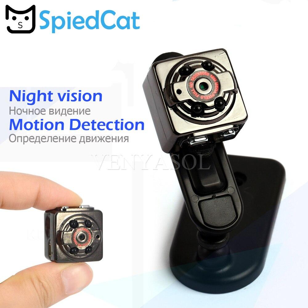 720 P/1080 P Mini Câmera Esporte DV Camcorder de Detecção Móvel de Voz Gravador de Vídeo Digital Cam Infravermelho Pequeno Noite visão