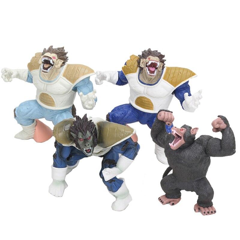 Figura de acción del Anime Dragon Ball Z, Son Goku, Kakarotto, el gran mono, King Kong, de PVC, juguete de modelos coleccionables, regalo de Navidad, 14cm