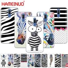 HAMEINUO Zebra black and white stripes phone Case for Huawei NOVA 2 2S 3e PLUS LITE p smart 2018 enjoy 7s mate 7 8 9 10 pro