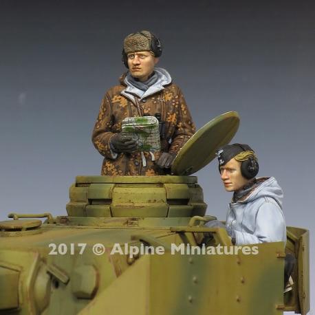1:35 de la II Guerra Mundial Panzer IV tanque de grupo