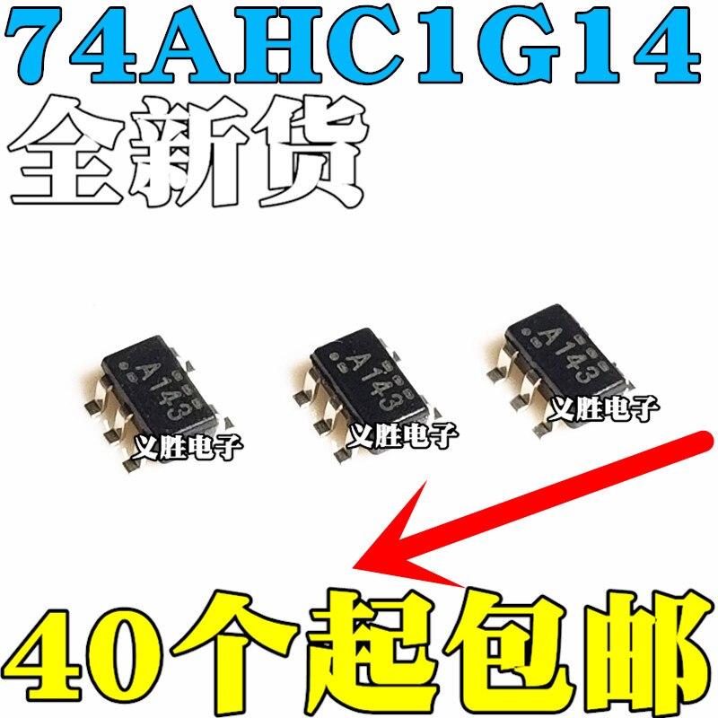 Nuevo SN74AHC1G14DBVR SOT23-5 Pantalla de seda A14G A14L A143 A14S