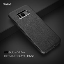 For Samsung Galaxy S8 Plus Case Soft Silicone Shockproof Leather Phone Case For Samsung S8 Plus Cove