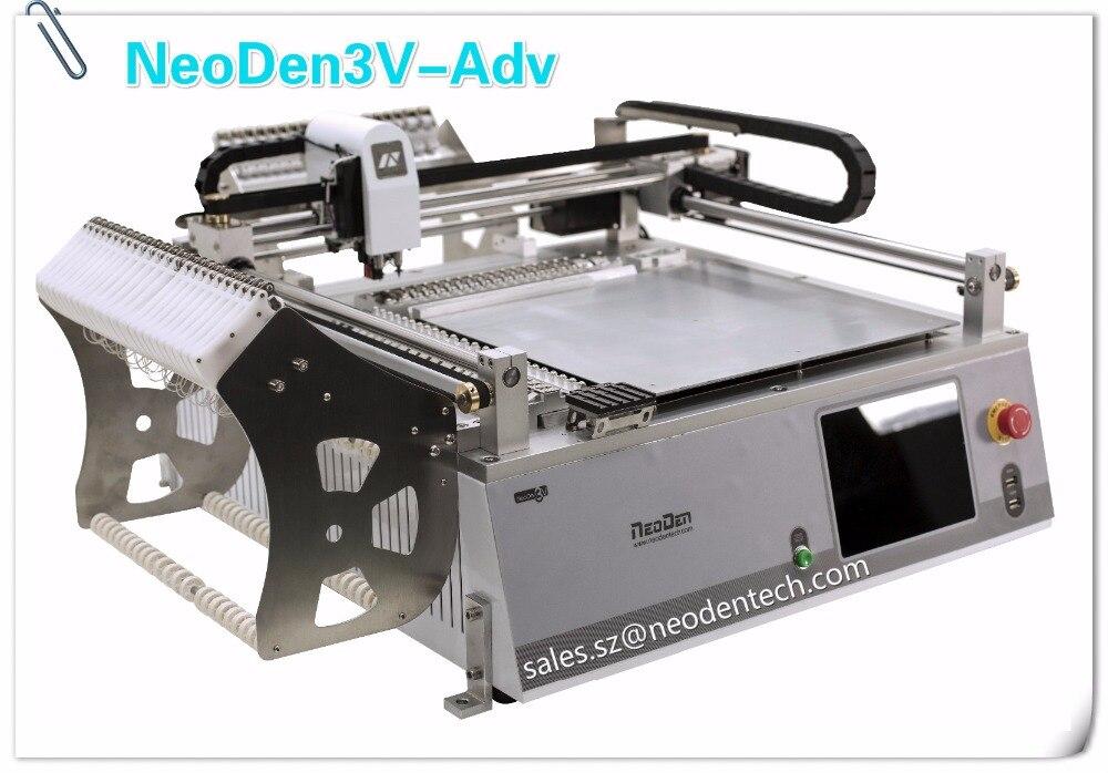 Elige y coloca la versión Neoden3V-Advanced con sistema de visión para montador de Chip SMT SMD