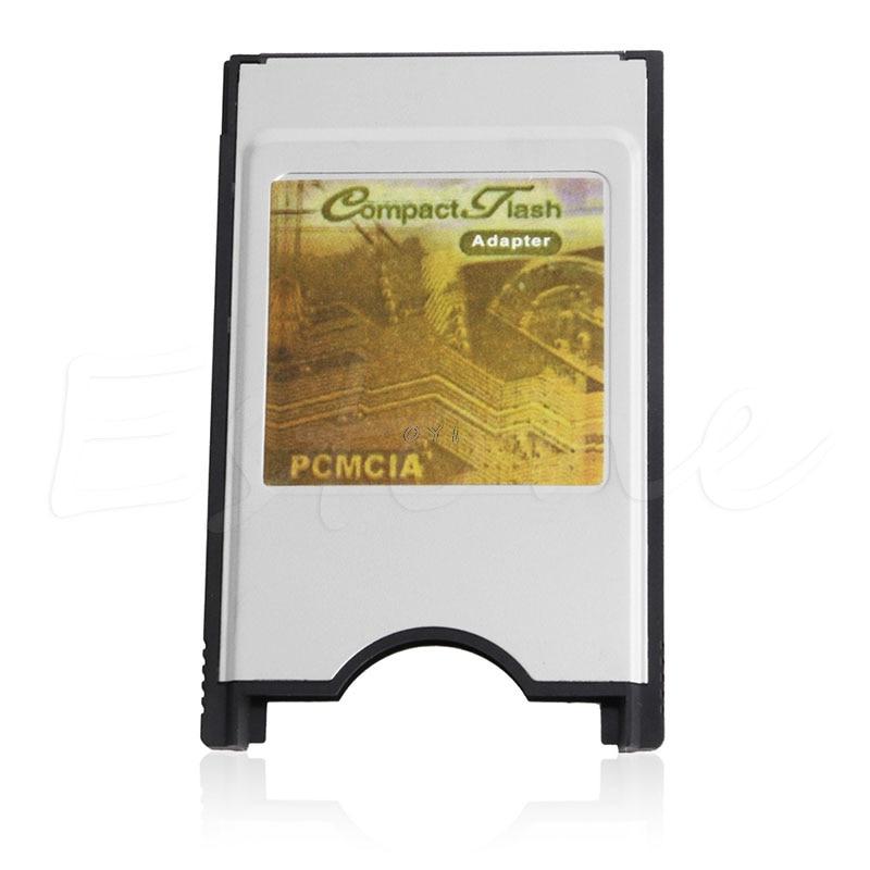 Carcasa interna de acero inoxidable de alta velocidad 68 pines PCMCIA Flash compacto CF adaptador lector de tarjetas para ordenador portátil