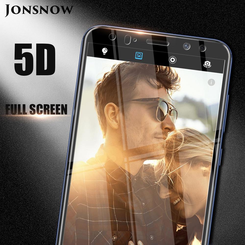 Cristal templado completo 5D para Huawei P20 Pro borde curvado cubierta completa para Huawei Mate 10 Lite/Mate 10 Pro Protector de pantalla