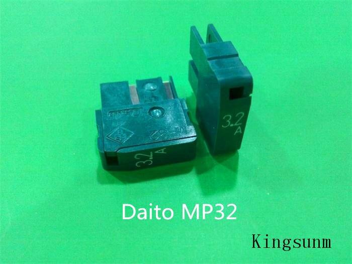 Free shipping 5pcs MP32 FANUC Daito / FANUC Japan daito fuse fuse 3.2A 125V
