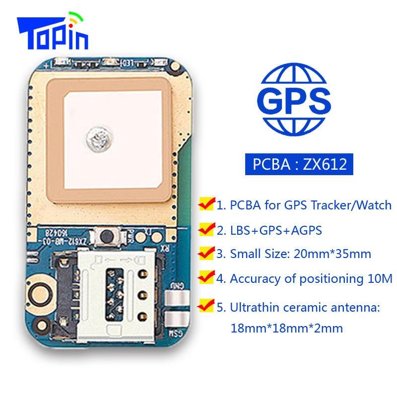 Мини-gps-трекер со скрытым местоположением, позиционный локатор, сигнал SOS, веб-приложение для отслеживания, высокая степень интеграции, PCBA дл...
