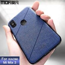 MOFi original xiaomi mi mix 3 case back cover protective mi mix3 case coque business for xiaomi mi mi 3 case cover