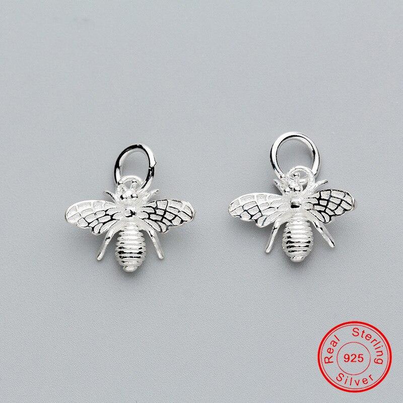 uqbing-1-шт-подвеска-из-настоящего-серебра-925-пробы-подвеска-в-виде-пчелы-для-самостоятельного-изготовления-браслета-Браслет-ожерелья-Женск