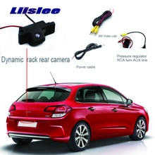 Liislee سيارة للرؤية الخلفية احتياطية عكس كاميرا لموقف السيارات لسيتروين C4 C-النصر C-كواتر سيجا الرؤية الخلفية HD كاميرا وقوف السيارات CCD كاميرا