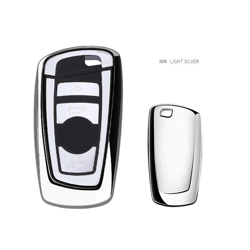 Чехол для автомобильного ключа, чехол для BMW 520 525 f30 f10 F18 118i 320i 1 3 5 7 Series X3 X4 M3 M4 M5, мягкий тпу защитный чехол для ключа Футляр для автомобильного ключа      АлиЭкспресс