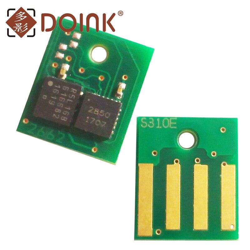 2 шт. 10k 50F4X00 (504X) чип для Lexmark MS410/MS610 Латинская Америка версия
