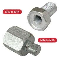 1PCS M10 M14 מתאם בורג זווית מטחנות לטש ממשק מחבר ממיר כוח כלי אביזרי חיבור מוט מתאם