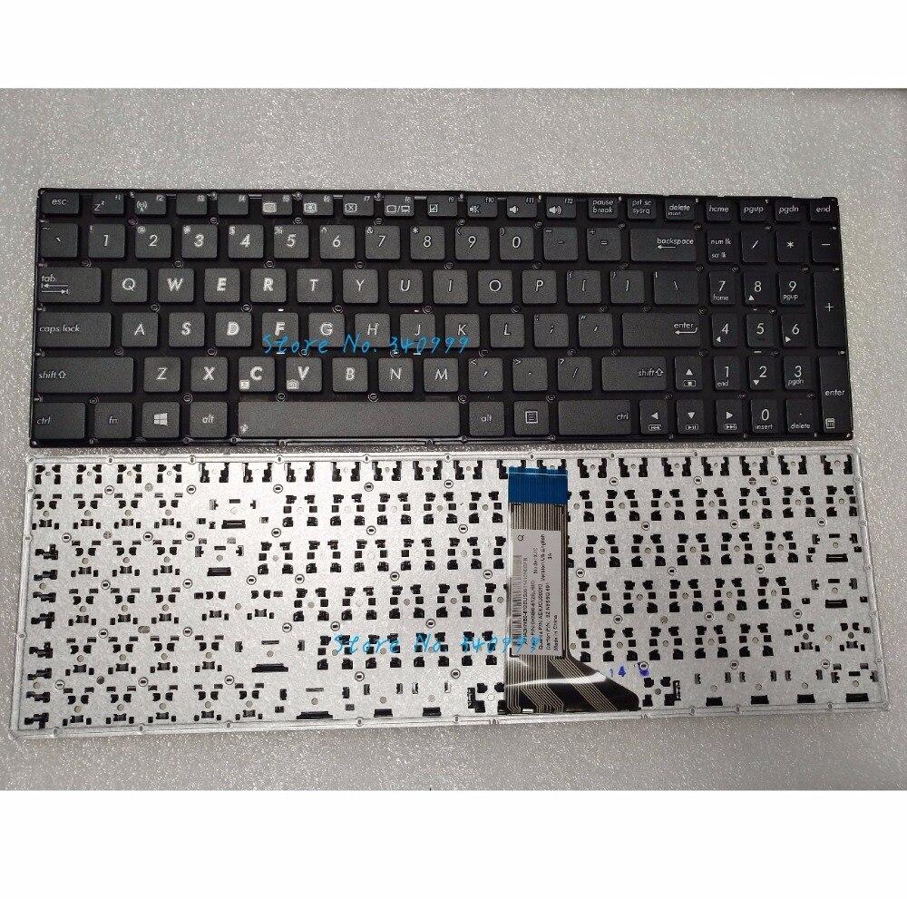 Новая клавиатура США для ASUS X551 X551CA X551MA F550 F550V 9Z. N8SSQ. 601 0KNB0-612EUS00 без рамки US Black