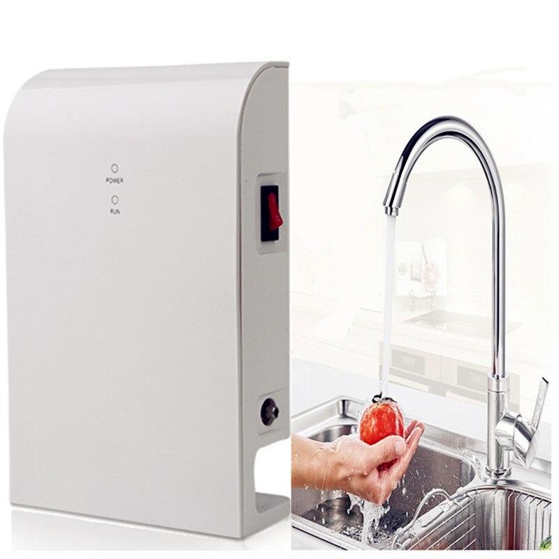 Ozonizador de agua para lavar verduras y frutas filtro de agua de cocina ozonizador universal AC100-240V a DC12V sin venturi