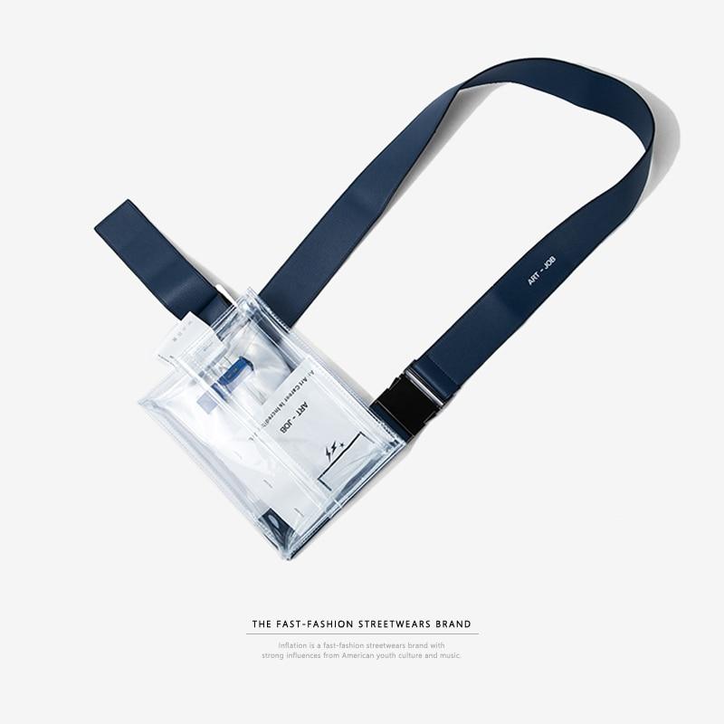 Поясная Сумка из ПВХ, прозрачная, высокого качества, для учебы, поясная сумка из ПВХ, для путешествий, телефона, сумка 152AI2017