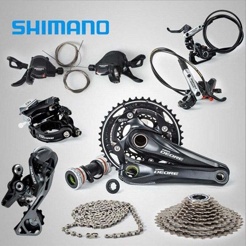 SHIMANO DEORE M610 3x10S Fach-gruppe Mit M615 Hydraulische Scheiben Bremse MTB Mountainbike
