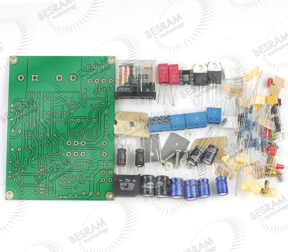 Amplificador HIFI doble op amp LM1875 25W * 2 17V ~ 18V Kit sin incluir radiadores