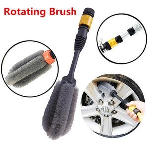 Image 5 - Автомобильная щетка для автомойки, автоматическая щетка для мойки на 360 градусов, ручной инструмент для мытья