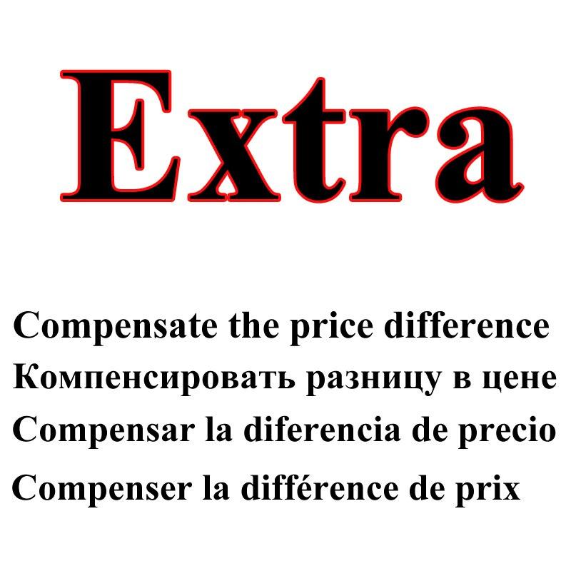 Compensar a diferença de preço, taxa de envio Extra