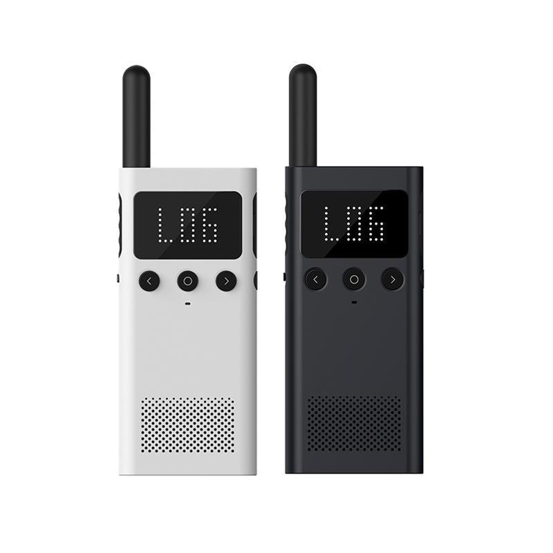 In stock New Xiaomi Mijia Walkie Talkie 1S Interphone FM Radio 5 Days Standby Phone APP Location Share Fast Team Talk USB Charge