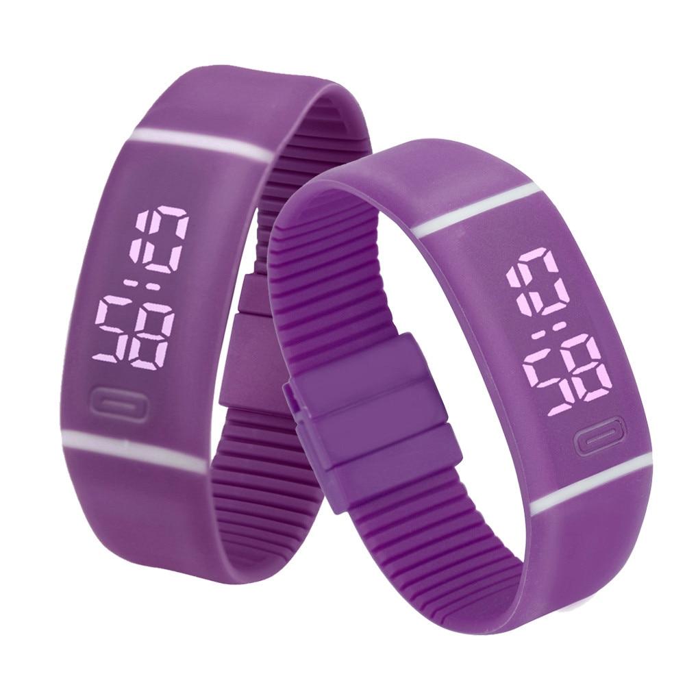 Hot Marketing New Fashion Men Women Wristwatch Rubber LED Watch Date Sports Bracelet Digital Wrist Watch Relogio Reloj