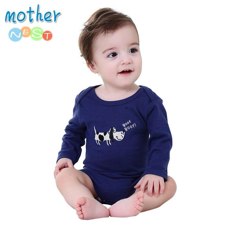 Mutter Nest 2018 Neu Baby Bodys Baumwolle Baby Mädchen Jungen Kleidung Kurzen Ärmeln Oansatz Neugeborene Baby-kleidung Säuglings Produkt