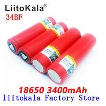 Nouvelle batterie Liitokala 18650 3400mah 3.7V originale NCR18650BF batterie rechargeable 18650