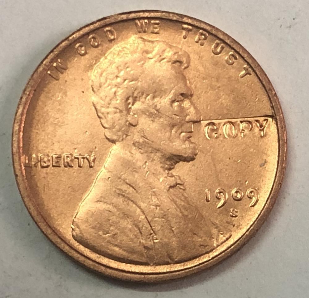 "1909-S VDB Соединенные Штаты 1 Cent ""Lincoln-Wheat Ears Reverse"""