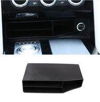 for land rover discovery 5 lr5 2017 car styling plastic central console multifunction storage box phone tray accessory