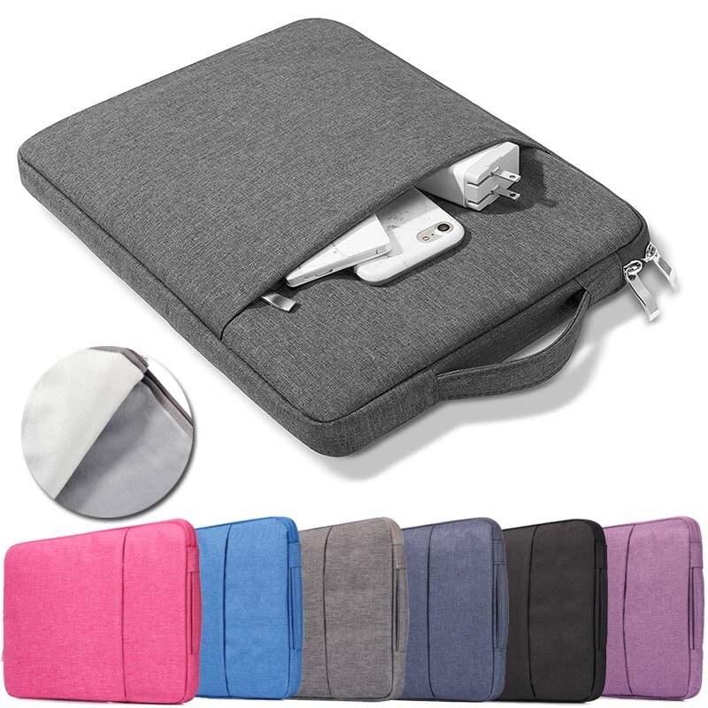 """KK&LL Universal Carry Nylon Zipper Laptop Sleeve Pouch Case Bag For 10"""" 11"""" 13"""" 14"""" 15"""" Tablet"""