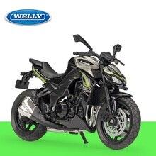 1:18 Welly Kawasaki Z 1000 R 2017 moto moulée sous pression