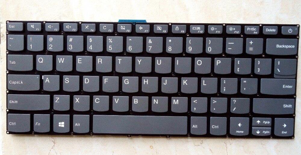 Nuevo para lenovo Ideapad 320-14ISK 320S-14IKB 320S-14IKBR laptop US teclado Inglés sin marco SN20M62009 PK131YN3A00 9Z.NDSSN.101