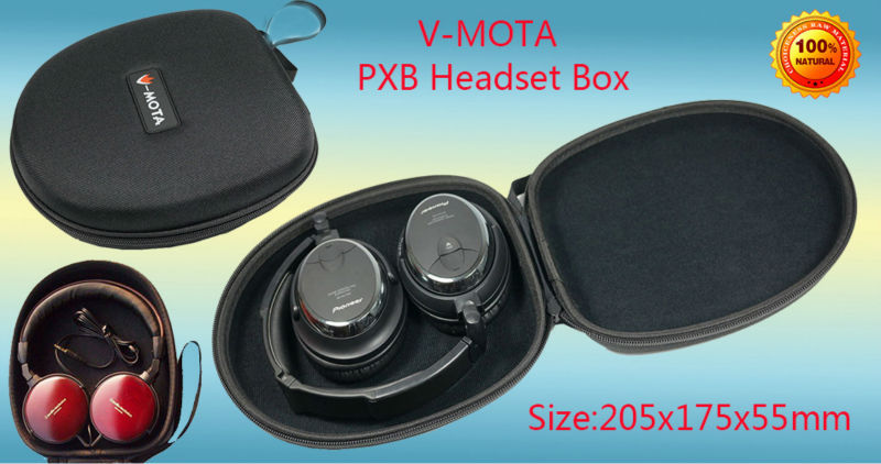 V-MOTA PXB Headphone Carry case boxs For Audio-Technica ATH-SJ33,ATH-SJ55,ATH-ES7 ATH-ESW9,ATH-ESW10,ATH-SJ11,ATH-VM55 headphone